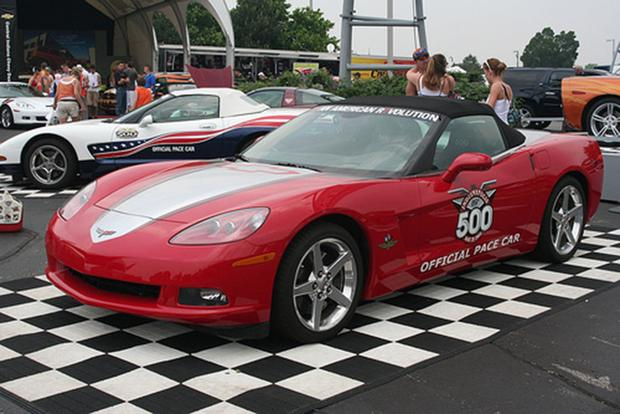 a look back at all the chevy corvette indy 500 pace cars featured image large thumb7