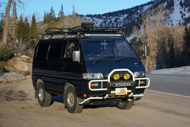 The Mitsubishi Delica L300: Now Invading from Planet Japan