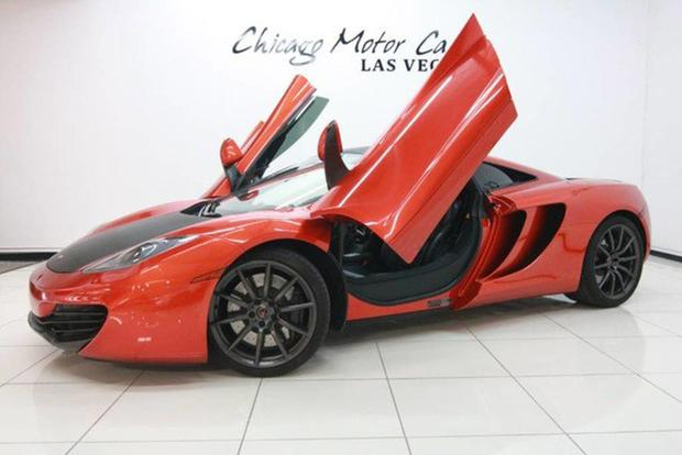 Mclaren For Sale >> These Are The Cheapest Mclarens For Sale On Autotrader