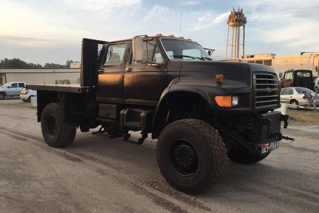 Autotrader Find: Giant 1995 Ford Navy Reconnaissance Truck