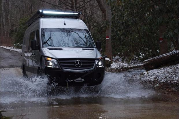 Autotrader Find: Highly Modified Mercedes Sprinter You Could Live In (For $125,000!)