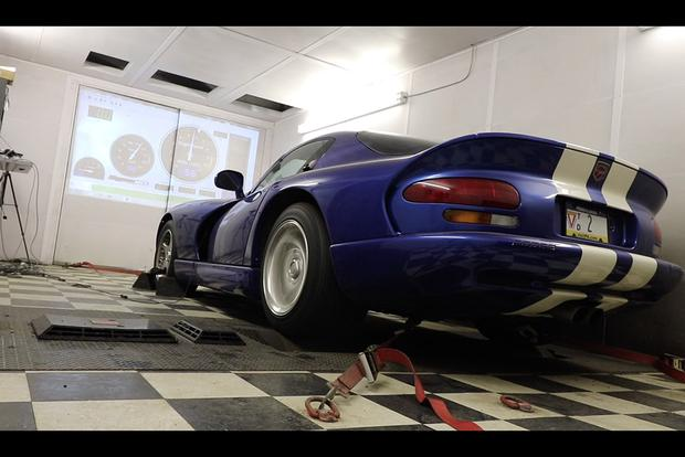 I Took My Dodge Viper to the Dyno to See How Much Horsepower It Makes