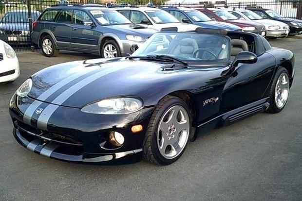 Dodge Viper For Sale >> Here Are The Cheapest Dodge Vipers Listed For Sale On