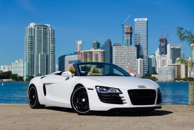 Here are the cheapest audi r8s for sale on autotrader for Brickell motors used cars