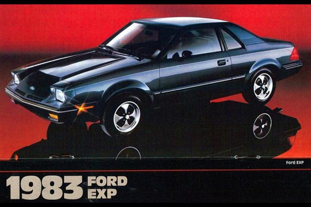 Ford EXP: The Forgotten Ford Escort featured image large thumb0