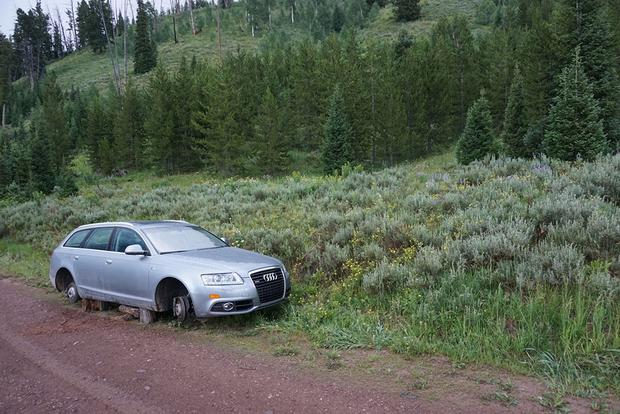 Here's an Audi A6 on Blocks in Middle-of-Nowhere Wyoming featured image large thumb2