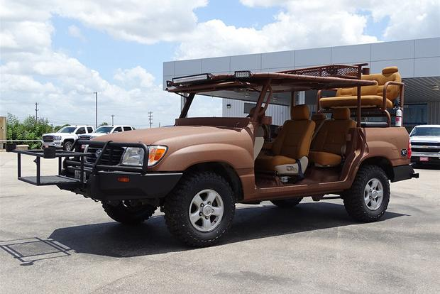 Autotrader Find: Insane Toyota Land Cruiser Hunting Vehicle featured image large thumb1