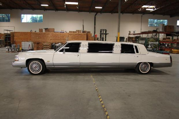 Autotrader Find: 1990 Cadillac Brougham Limousine featured image large thumb0