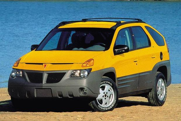 Car News & Hereu0027s Why the Ugly Pontiac Aztek Is Actually Kind of Cool ...