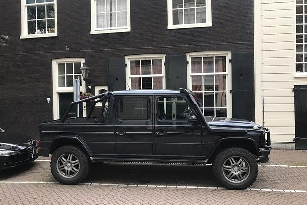 This Mercedes-Benz G-Wagen Pickup Conversion is the Coolest Car I Saw in Europe featured image large thumb0