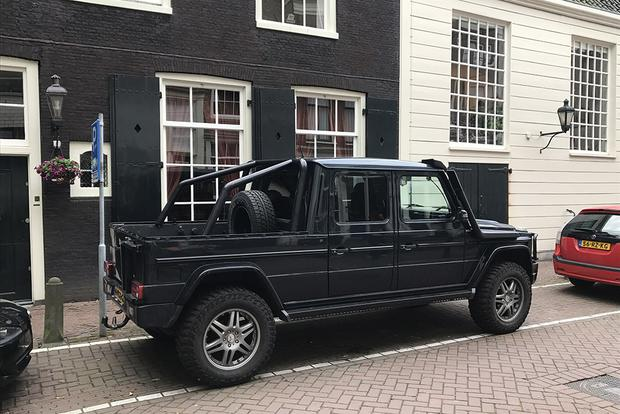 This Mercedes-Benz G-Wagen Pickup Conversion is the Coolest Car I Saw in Europe featured image large thumb1