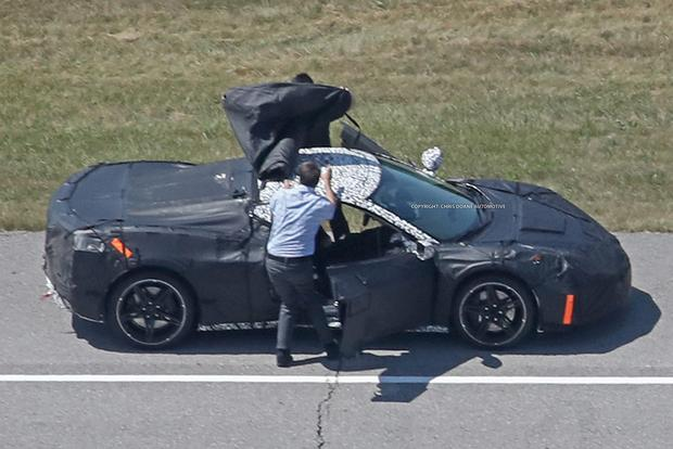 Wow: There Might Actually Be a Midengine Chevy Corvette featured image large thumb1