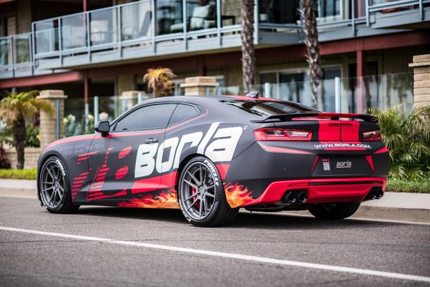 Autotrader Find: 2017 Chevy Camaro SS Borla Exhaust Project Car featured image large thumb0
