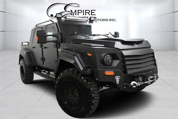Autotrader Find: 2015 Terradyne GURKHA RPV featured image large thumb0