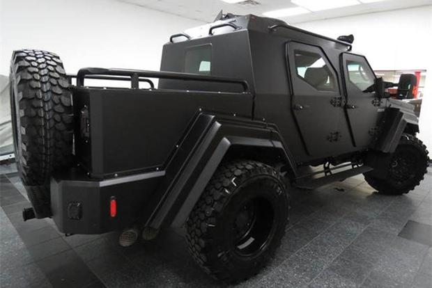 Autotrader Find: 2015 Terradyne GURKHA RPV featured image large thumb2
