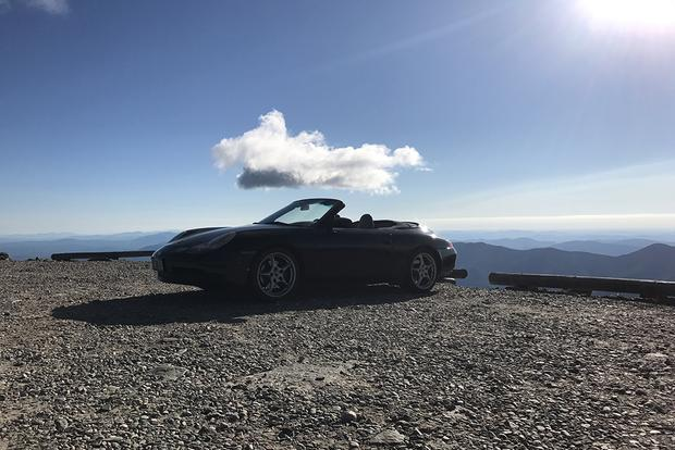 My Porsche 911 Takes on Mount Washington