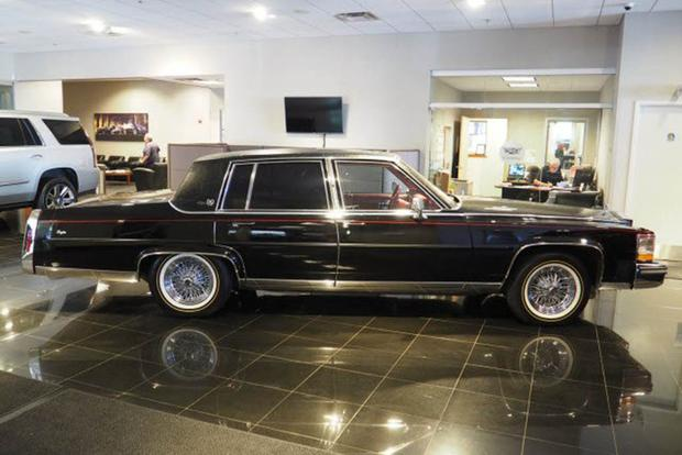 Autotrader Find: 1989 Cadillac Brougham With 5,300 Miles featured image large thumb0