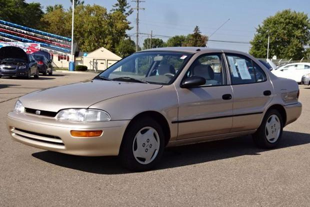 Autotrader Find: One-Owner 1996 Geo Prizm With 77,000 Miles