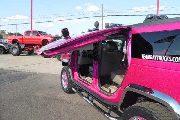 Autotrader Find: Bright Pink 2003 Hummer H2 With Gullwing Doors featured image large thumb1