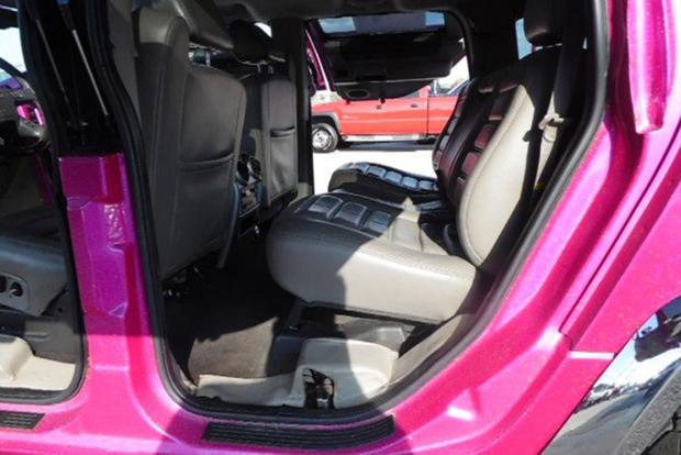 Autotrader Find: Bright Pink 2003 Hummer H2 With Gullwing Doors featured image large thumb2