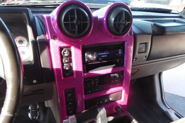 Autotrader Find: Bright Pink 2003 Hummer H2 With Gullwing Doors featured image large thumb3