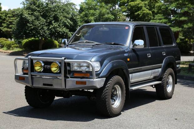 Nice Autotrader Find: Imported RHD 1992 Toyota Land Cruiser Diesel Featured  Image Large Thumb0