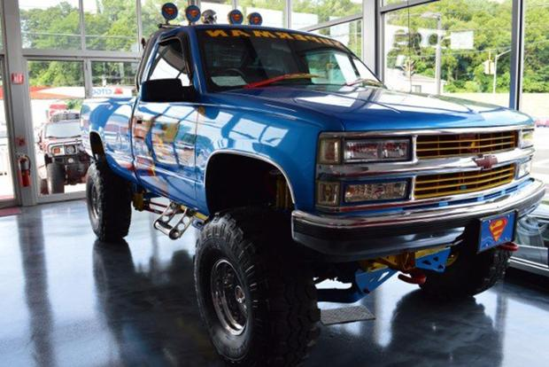 Autotrader Find: 1996 Chevy Pickup With Endless Superman Graphics featured image large thumb0