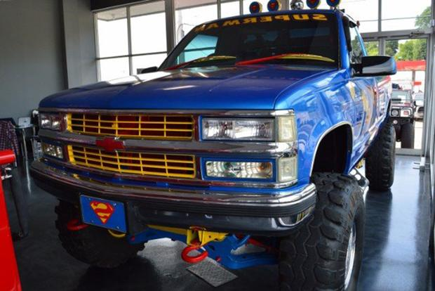 Autotrader Find: 1996 Chevy Pickup With Endless Superman Graphics featured image large thumb5