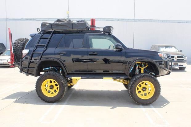 Car News Autotrader Find Ridiculously Modified 2017 Toyota 4runner