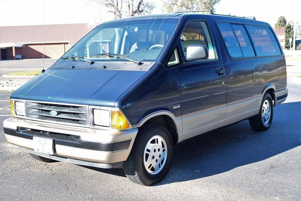 Autotrader Find 1991 Ford Aerostar Time Capsule Featured Image Large Thumb0