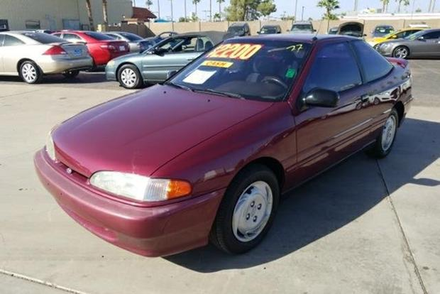 Autotrader Find: 1994 Hyundai Scoupe in Surprisingly Nice Condition featured image large thumb0