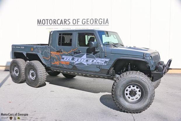 Autotrader Find: Jeep Wrangler 6-Wheel-Drive Pickup for $285,000 featured image large thumb0