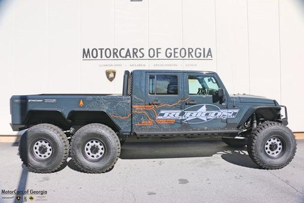 Autotrader Find: Jeep Wrangler 6-Wheel-Drive Pickup for $285,000 featured image large thumb1