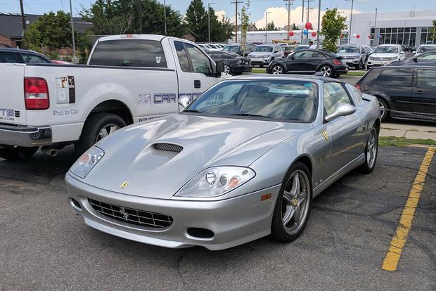 The 2005 Ferrari Superamerica Is Just Plain Cool featured image large thumb0