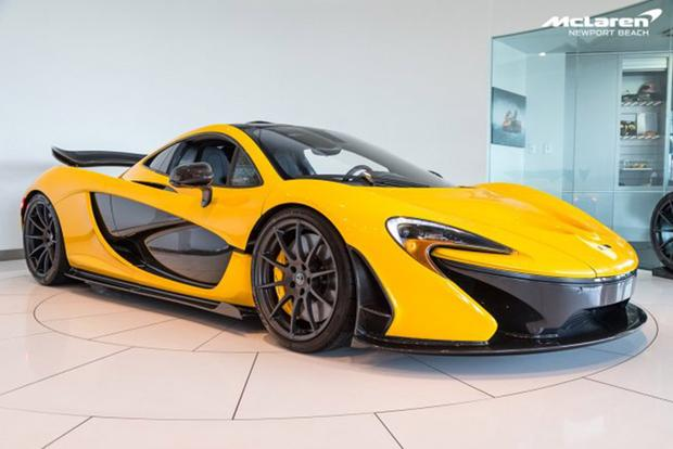 Autotrader Find: McLaren P1 With 100 Miles for $3 Million featured image large thumb0