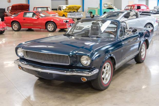 Autotrader Find: Mazda Miata Turned Into a 1960s Ford Mustang featured image large thumb0