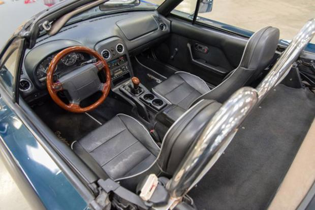 Autotrader Find: Mazda Miata Turned Into a 1960s Ford Mustang featured image large thumb3