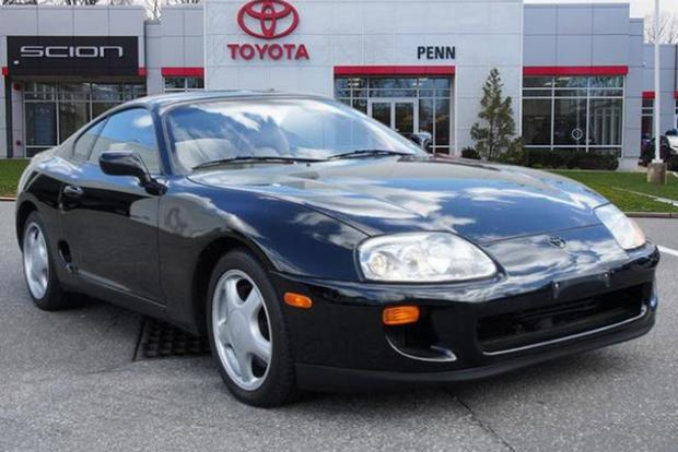 Autotrader Find: Mint 1993 Toyota Supra Turbo … Automatic featured image large thumb0