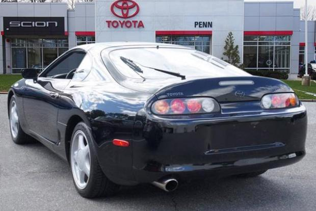Autotrader Find: Mint 1993 Toyota Supra Turbo … Automatic featured image large thumb1