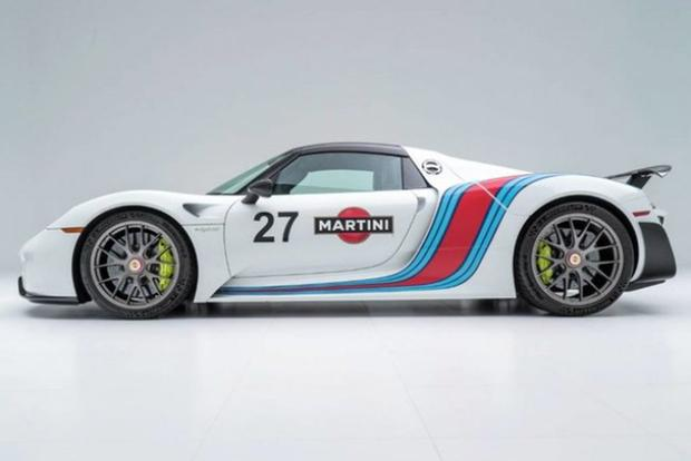 Autotrader Find: Porsche 918 Spyder With Martini Livery featured image large thumb1