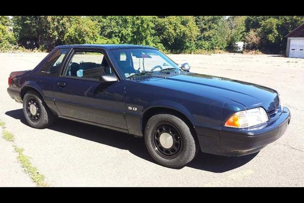 Autotrader Find: 1989 Ford Mustang State Trooper Replica featured image large thumb0