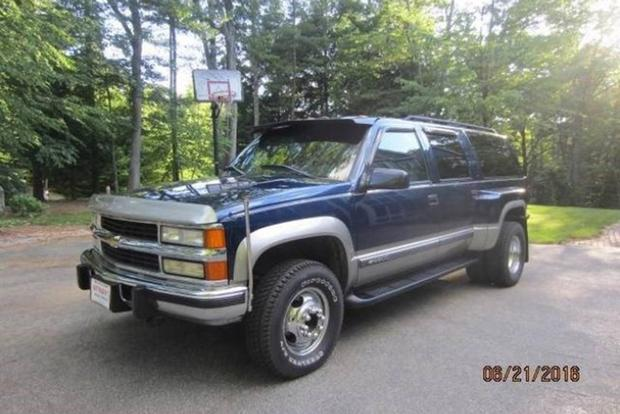 Autotrader Find: 1999 Chevy Suburban 2500 Dually featured image large thumb0