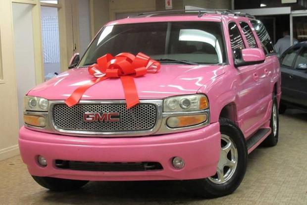 Car News Autotrader Find Pink 2006 Gmc Yukon Denali