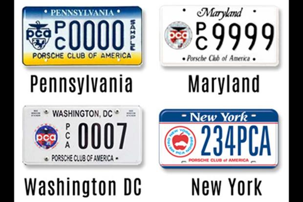 Pennsylvania Has a License Plate for the Porsche Club of America featured image large thumb1