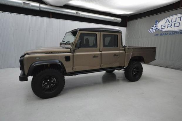 Land Rover Truck >> These Are The Coolest Land Rover Models For Sale On Autotrader