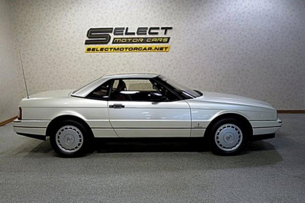 Autotrader Find: 1989 Cadillac Allante With 1,600 Miles featured image large thumb0