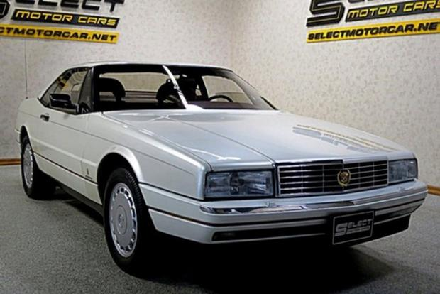 Autotrader Find: 1989 Cadillac Allante With 1,600 Miles featured image large thumb1