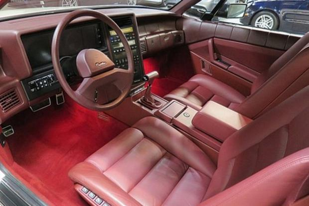 Autotrader Find: 1989 Cadillac Allante With 1,600 Miles featured image large thumb2