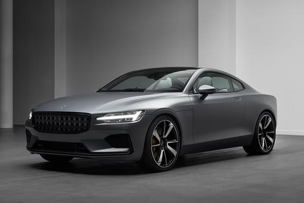 Volvo's Polestar 1 Will Be a 600-Horsepower Volvo Flagship Coupe featured image large thumb0