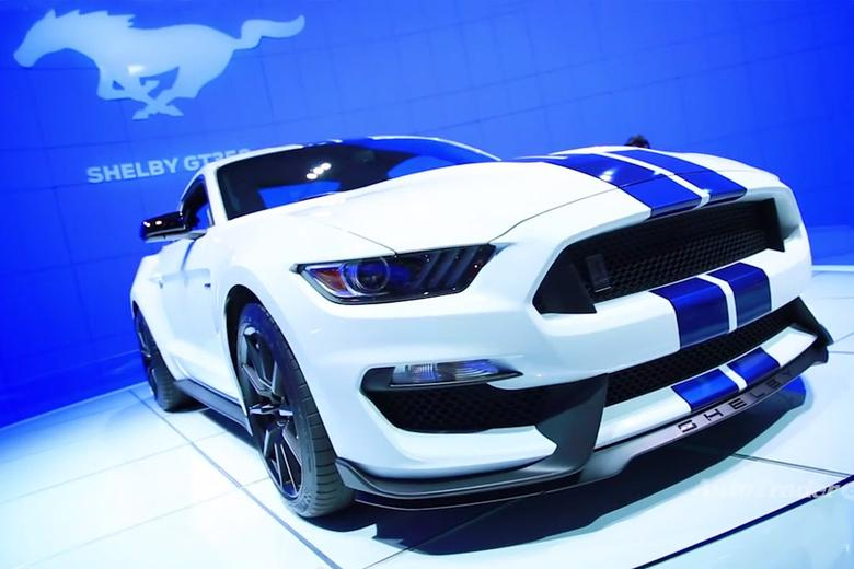 Ford Shelby GT Mustang LA Auto Show Video Autotrader - 2016 ford vehicle lineup